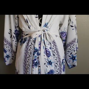 Women Large Floral Maxi Dress